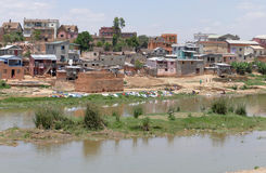 Antananarivo, Μαδαγασκάρη 25 ΝΟΕΜΒΡΊΟΥ 2016: Δραστηριότητα ανθρώπων Στοκ Φωτογραφία
