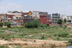 Antananarivo, Μαδαγασκάρη 25 ΝΟΕΜΒΡΊΟΥ 2016: Δραστηριότητα ανθρώπων Στοκ εικόνα με δικαίωμα ελεύθερης χρήσης