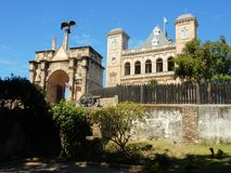 Antananarivo, παλάτι Manjakamiadana, Rova βασιλισσών σύνθετο Στοκ Εικόνα