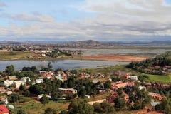 antananarivo förort Arkivbild