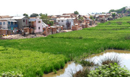 Antananarivo, madagascar 24 DE NOVEMBRO DE 2016: Trabalho dos povos no foto de stock royalty free
