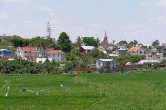 Antananarivo madagascar NOVEMBER 24TH 2016: Folkarbete på royaltyfria bilder