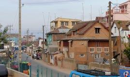Antananarivo, Madagascar 25TH NOVEMBER 2016: Mensenactiviteit Stock Foto's