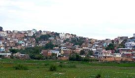 Antananarivo, Madagascar 25TH NOVEMBER 2016: Mensenactiviteit Stock Fotografie