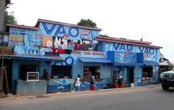 Antananarivo, Madagascar 25TH NOVEMBER 2016: Mensenactiviteit Royalty-vrije Stock Afbeelding