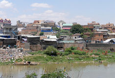 Antananarivo, Madagascar 25TH NOVEMBER 2016: Mensenactiviteit Stock Afbeeldingen