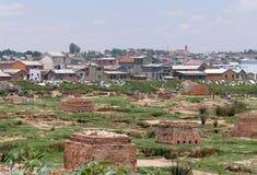 Antananarivo, Madagascar 25TH NOVEMBER 2016: Mensenactiviteit Royalty-vrije Stock Afbeeldingen