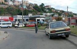 Antananarivo, Madagaskar 24. NOVEMBER 2016: Leutetätigkeit herein Stockfotografie