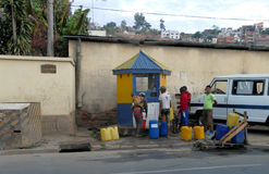 Antananarivo, Madagaskar 24. NOVEMBER 2016: Leutetätigkeit herein Lizenzfreie Stockbilder