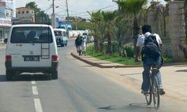 Antananarivo, Madagaskar 24. NOVEMBER 2016: Leutetätigkeit herein Stockbild