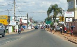 Antananarivo, Madagaskar 24. NOVEMBER 2016: Leutetätigkeit herein Lizenzfreies Stockbild