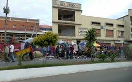 Antananarivo, Madagaskar 24. NOVEMBER 2016: Leutetätigkeit herein Lizenzfreie Stockfotografie