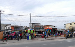 Antananarivo, Madagaskar 24. NOVEMBER 2016: Leutetätigkeit herein Lizenzfreie Stockfotos