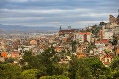 Antananarivoen huvudstaden av Madagascar royaltyfri bild