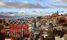 Antananarivopanorama, Madagascar Stock Afbeeldingen
