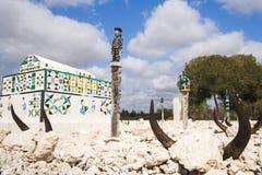 Antandroy traditional tomb Stock Photos