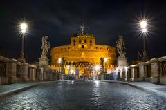 ` Antangelo de Castel S en la noche Fotografía de archivo libre de regalías