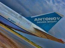 Antanov 124-100 Lizenzfreies Stockbild
