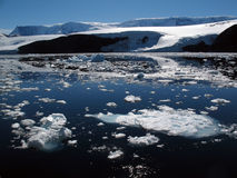 Antarctic coast. At the Eastern Peninsula Stock Photo