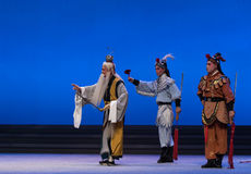 """Antarctic cockle-The fifth act Steal immortal-Kunqu Opera""""Madame White Snake"""" Stock Images"""
