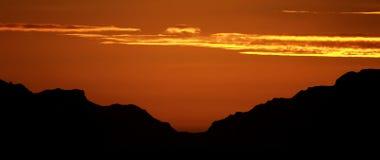Antarctic dawn. Near Elephant Island Stock Photo