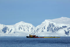 Antarctic expedition staff Royalty Free Stock Photography