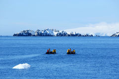 Antarctic expedition staff Stock Image