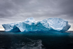 antarctic góra lodowa fotografia royalty free