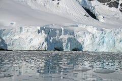 Antarctic glacier 4 Stock Image