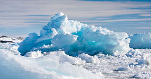 Antarctic Glacier Royalty Free Stock Images