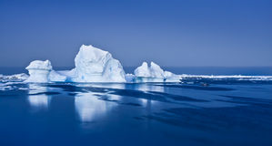 Antarctic Glacier Royalty Free Stock Photos