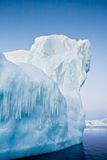Antarctic Glacier. In the snow royalty free stock photo
