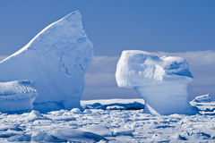 Antarctic glacier Royalty Free Stock Photo