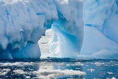 Antarctic glacier Royalty Free Stock Photography