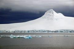 antarctic gleczeru krajobraz Zdjęcie Stock