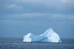 Antarctic ice island Stock Image