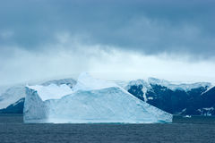 Antarctic ice island Stock Photography