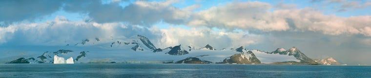 Antarctic ice island stock image