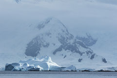 Antarctic Ice shelves and Snow Royalty Free Stock Image