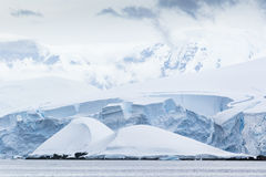 Antarctic Ice shelves and Snow Royalty Free Stock Photography