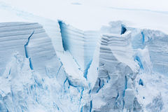 Antarctic Ice and Snow blocks Royalty Free Stock Photography