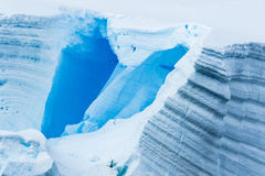 Antarctic Ice and Snow blocks Royalty Free Stock Images