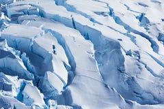 Antarctic Ice and Snow blocks Stock Images
