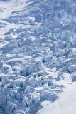 Antarctic Ice and Snow blocks Stock Photo