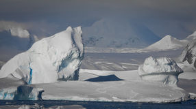 Antarctic iceberg Royalty Free Stock Image