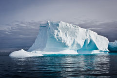 Antarctic iceberg. In the snow royalty free stock image