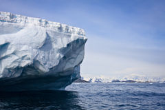 Antarctic iceberg Royalty Free Stock Photos