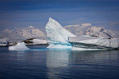 Antarctic iceberg Royalty Free Stock Images