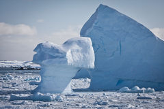 Antarctic iceberg stock photography
