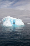 Antarctic iceberg. Iceberg floating in Antarctic waters royalty free stock photos